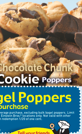 Chocolate Chunk Cokkie Poppers
