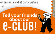 Tell your friends about our e-club!