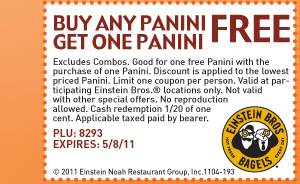 Buy a Panini & Get one Free